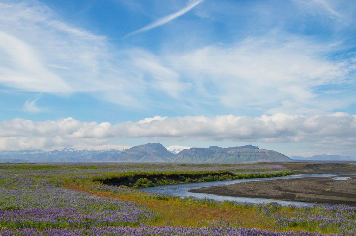 Southern Iceland Landscape